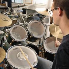 Jack Nicholson - drum teacher