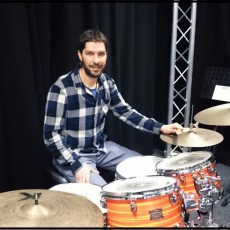 Ilias Lintzos - drum teacher