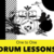 ONLINE one to one drum lessons