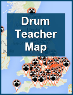 Drum Teacher Map