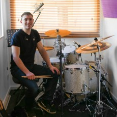 Chris Heyes - drum teacher